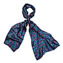 Berry Blue Silk Scarf image