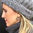 Triple Karma Earrings image