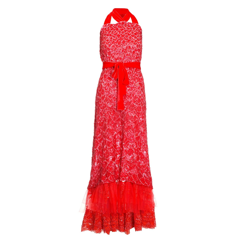 ddbf8aa4633 Red Sequin Dress