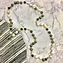 Freshwater Pearls With Labradorite Multi-Way Necklace image