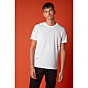 Bee Embroidered T-Shirt White Men image