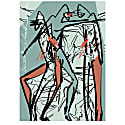 Outsiders I Limited Edition A2 Giclée Print Signed & Numbered image