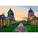 Old Royal Naval College Greenwich Art Print image