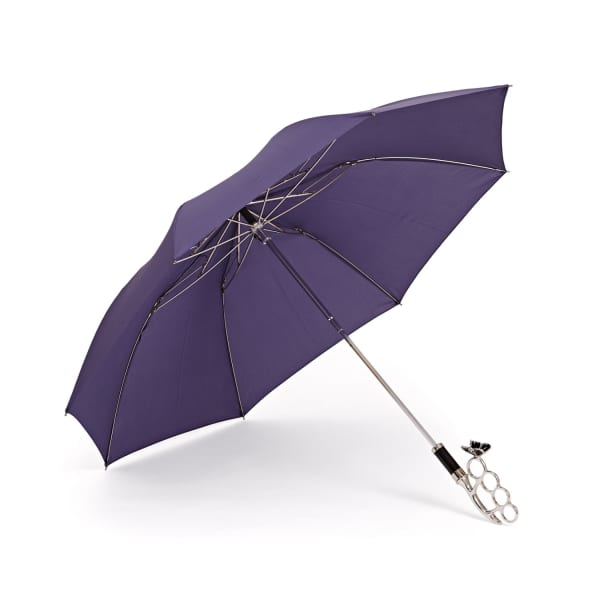 GIZELLE RENEE The Nirvana Compact Purple Umbrella