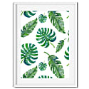Botanical Leaf Pattern Print image