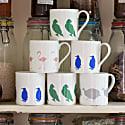 Guinea Fowl Mug image