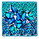 Scarf Blue Big image