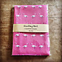 Flamingo Tea Towel Miami Pink image