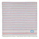Seagull Stripes Beach Towel Navy & Red image