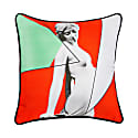 Siren Red Cotton Cushion image