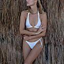Skinny Bikini Brief - Corsica - Azurite Blue image