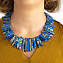 Blu Azzutite Crystal Necklace image