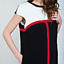 Stripe Detail Sack Dress image