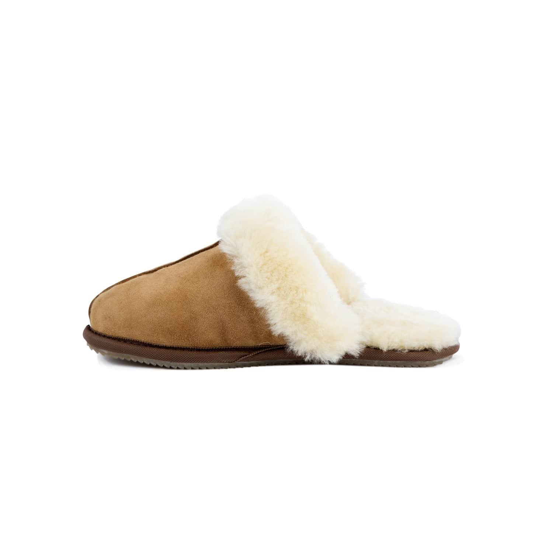 2e7a1c9e4d0b1 Classic Women's Tan Sheepskin Slippers by MAHI Leather