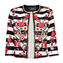Elegant Jacket with Floral Print image