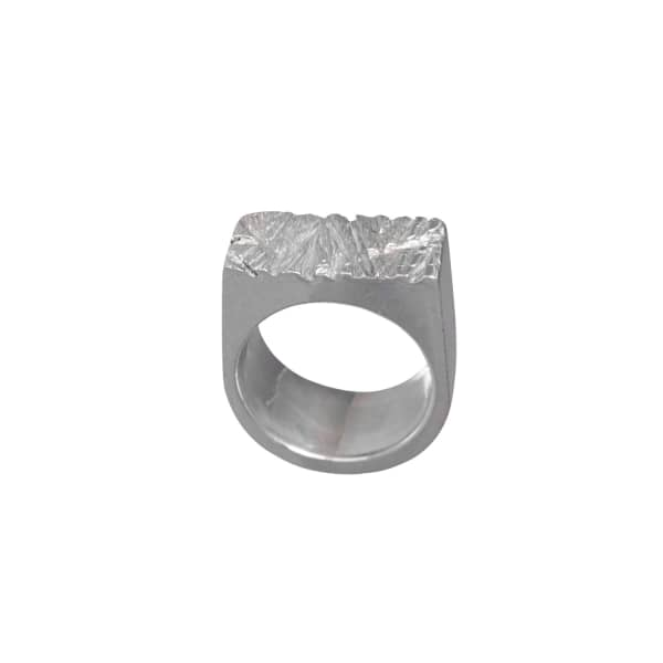Rugged Ring Silver