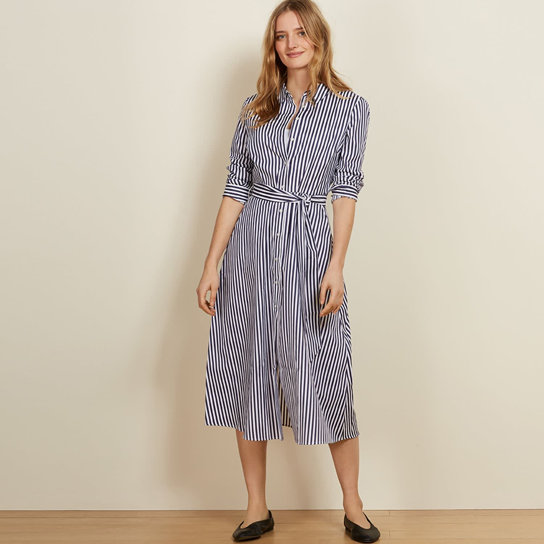 1a88489968afa Madeline Dress In Blue | Baukjen | Wolf & Badger