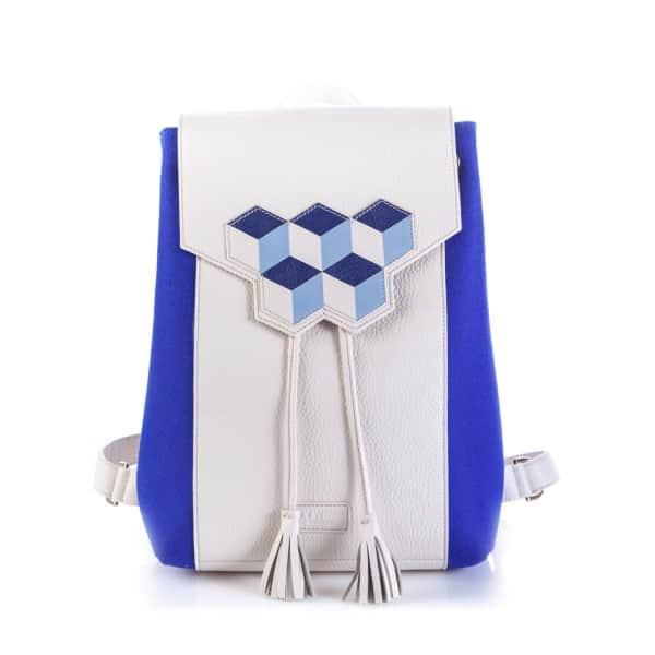 Cheryl Backpack In Navy Blue