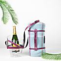 """""""Keep Your Cool"""" Champagne Bucket - Purple Leather Strap image"""