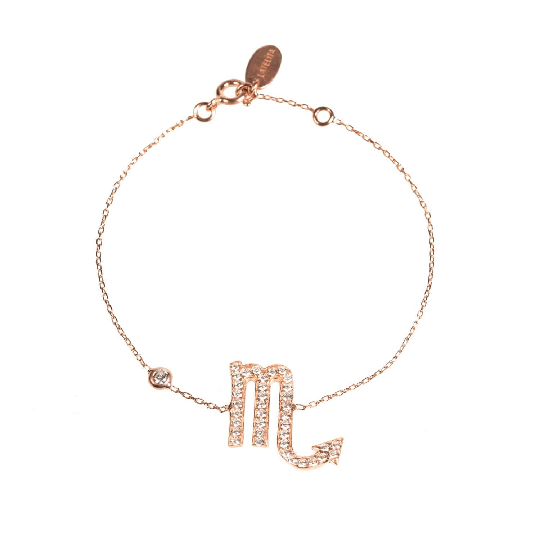 Latelita London Scorpio Zodiac Bracelet Rose Gold 5sWVc