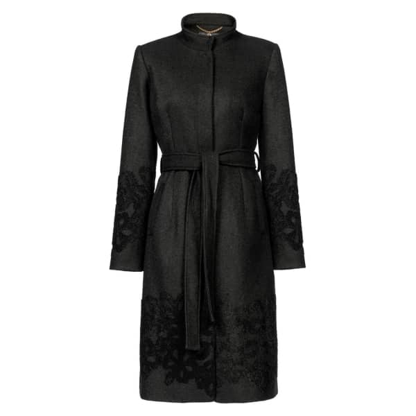 NISSA Classic Coat With Lapels