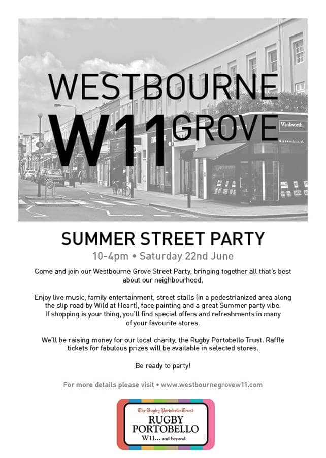 Westbourne summer street party