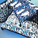 The Decorative Thistle Blue Cushion image