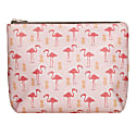 Flamingo & Pineapple Washbag image