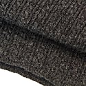 Charcoal Small Braided Wool & Cashmere Scarf image