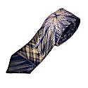 Satin Tropical Print Tie image