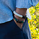 Teahupo'o Leather Bracelet in Green image