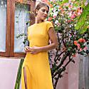 Rachel Dress - Mustard image