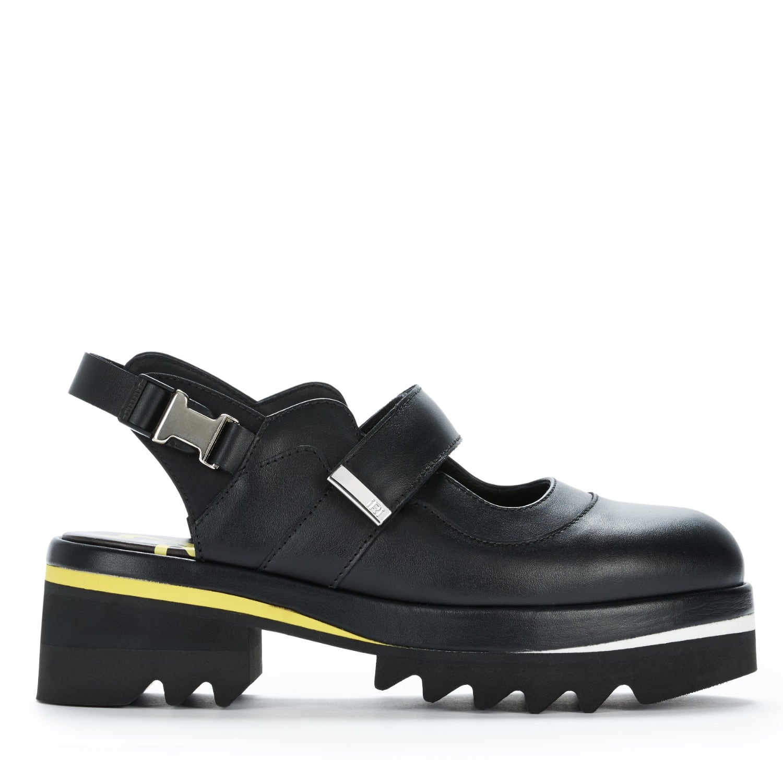 ee64e620408a Mens Black Leather Sandal
