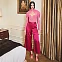 Victoria Deep Pink Bodysuit image
