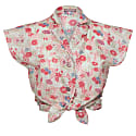 Summer Blouse Pink Flowers image