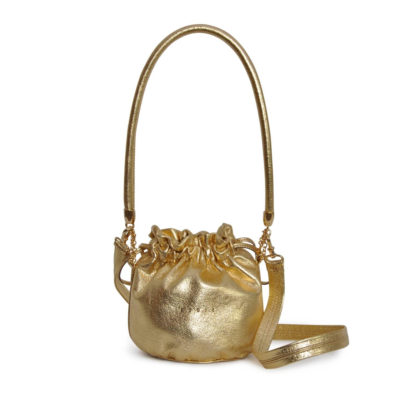 315d898a9bc Anna Mini Bucket Bag Gold | Eddie | Wolf & Badger