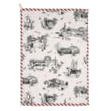 Harrogate Toile Tea Towel image