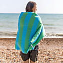Carnival Travel Towel Green & Turquoise image
