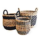 Ula Mesh Basket - Black (Set of 3) image