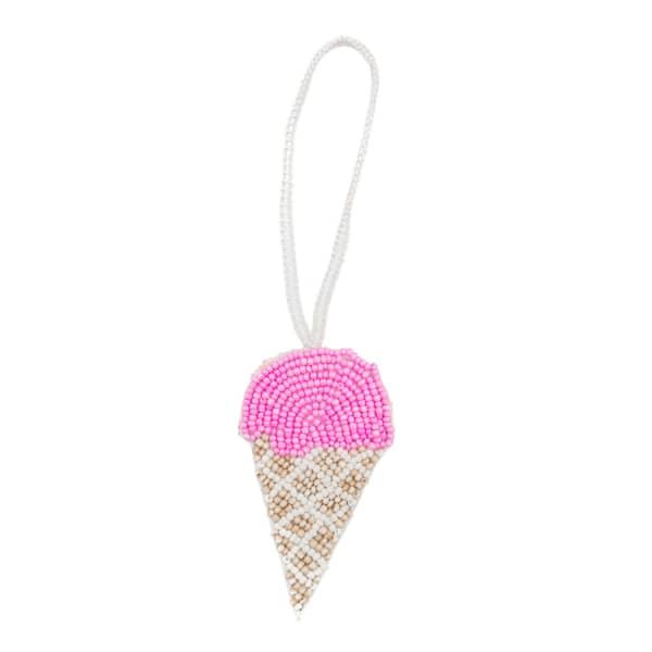 MADEBYWAVE Pink Ice Cream Charm