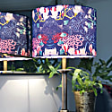 Midnight Florals Lampshade image