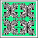 Zebras Green image