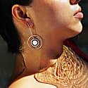 Eclipse Asymmetrical Earrings Long Set image