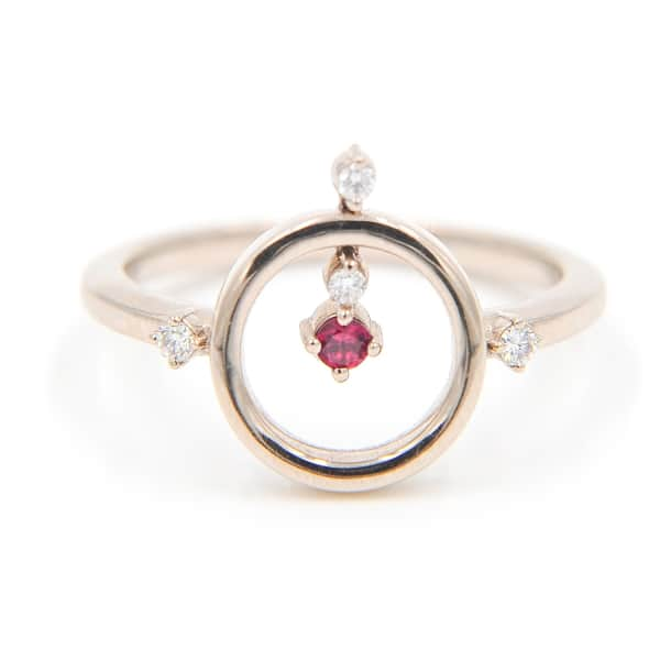 ANNA MACHADO JEWELRY Ballerina Ring