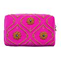 Zoe - Hot Pink Make Up Bag image