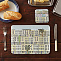London Townhouses Placemats Set Of Four Large image