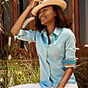 Ladies Turquoise 'Kisumu' Shirt image