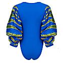 Naa African Print Bodysuit With Exaggerated Sleeves image