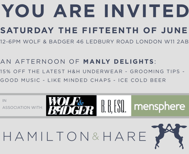 JUNE 15TH INVITATION H&H