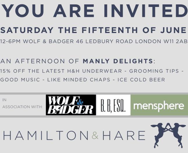 JUNE 15TH INVITATION H&H